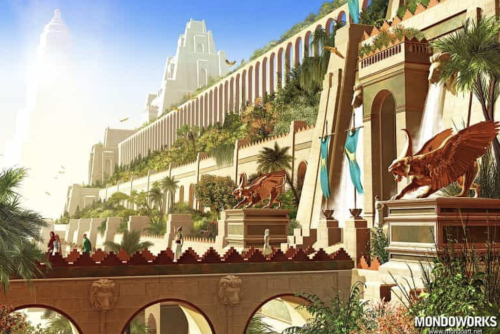 Reconstructions of the 7 wonders of the world