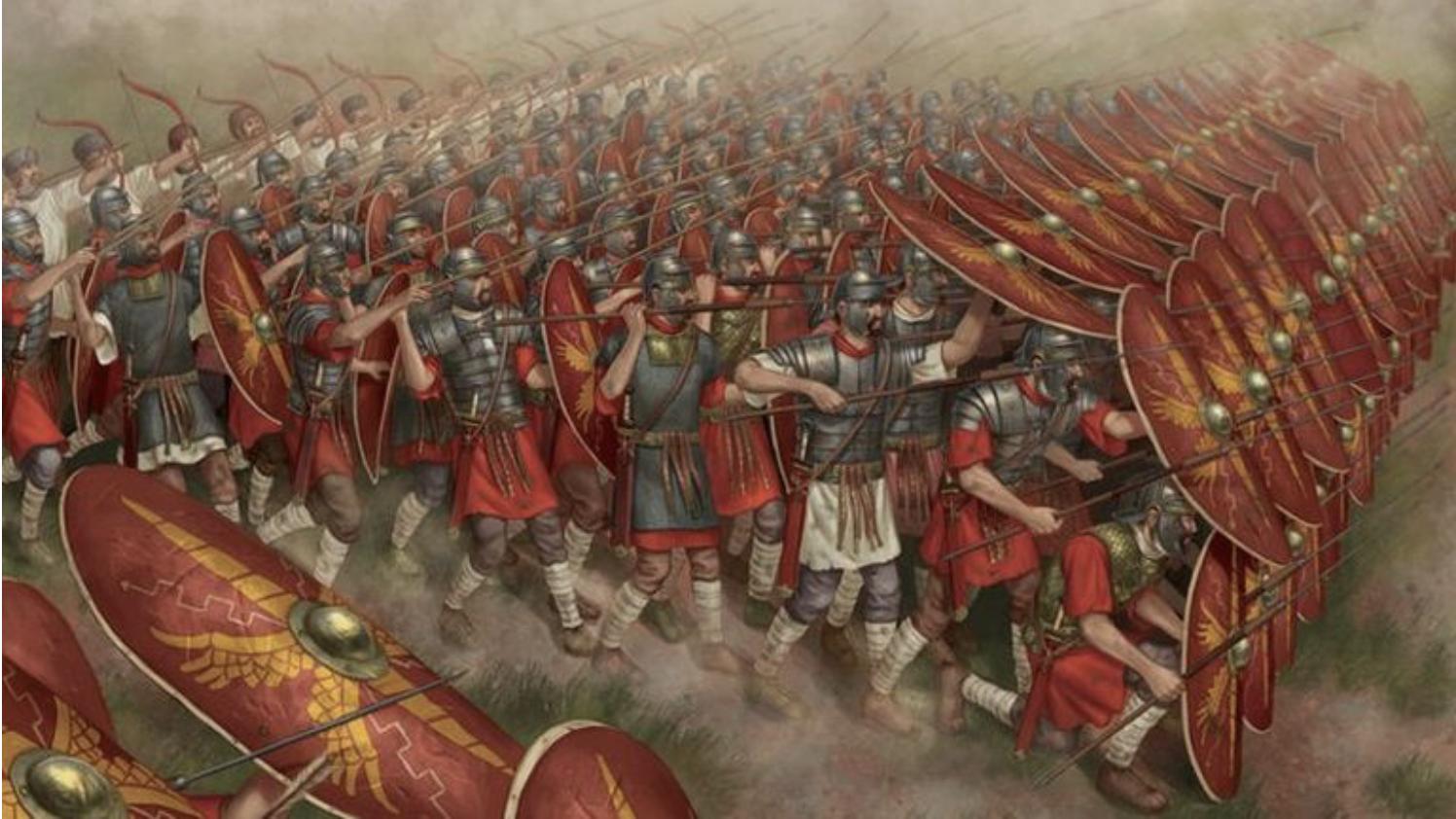 Development of Roman Warfare – animated