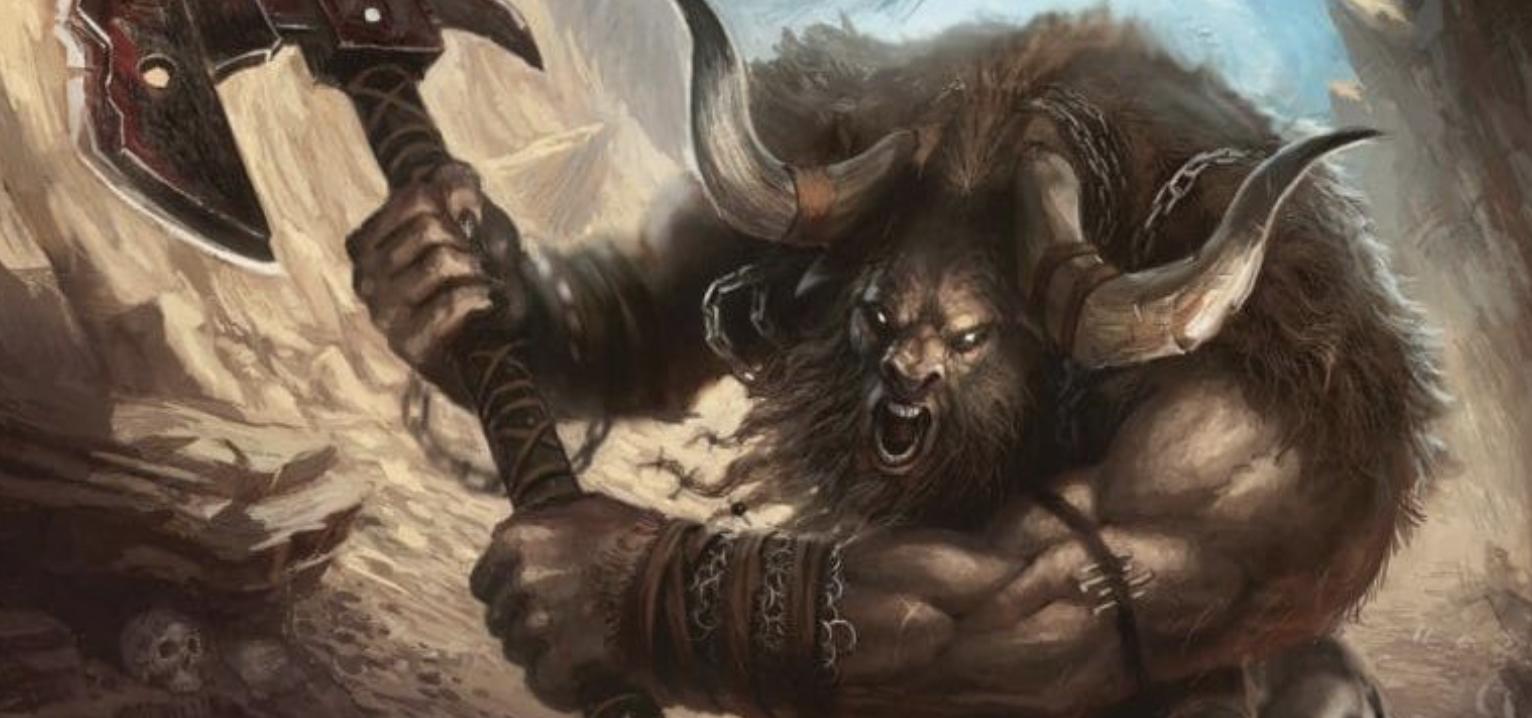 Minotaur: The Ancient Greek Bull-Headed Monster