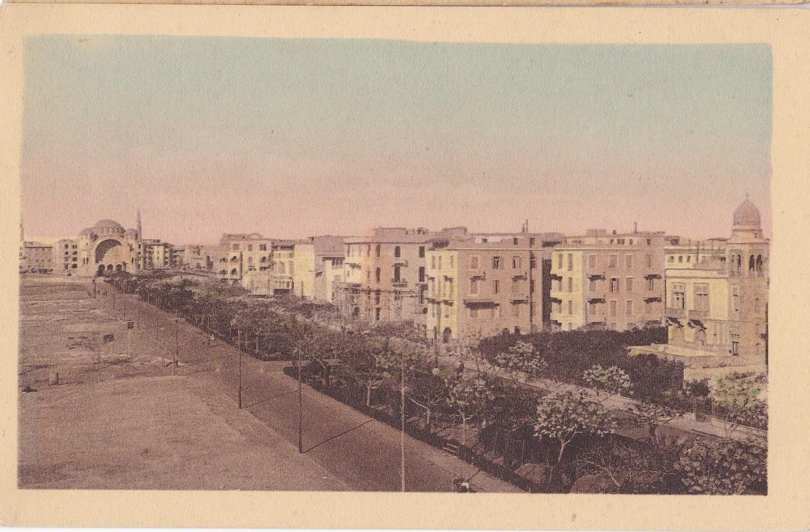 Postcards Heliopolis – B. Livadas & Coutsicos Cairo – 1918