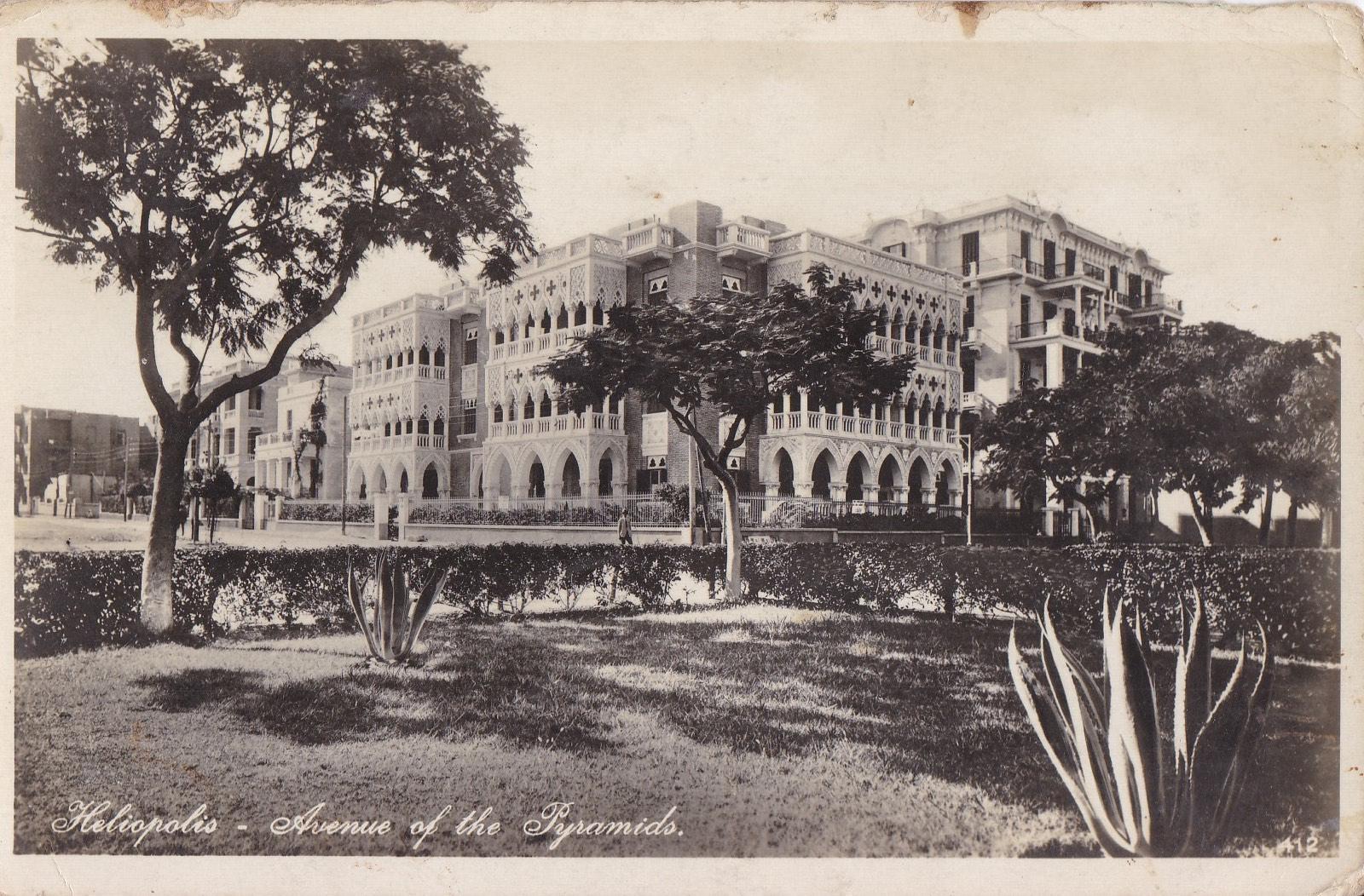Postcards Heliopolis – Copyright by Lehnert & Landrock Cairo
