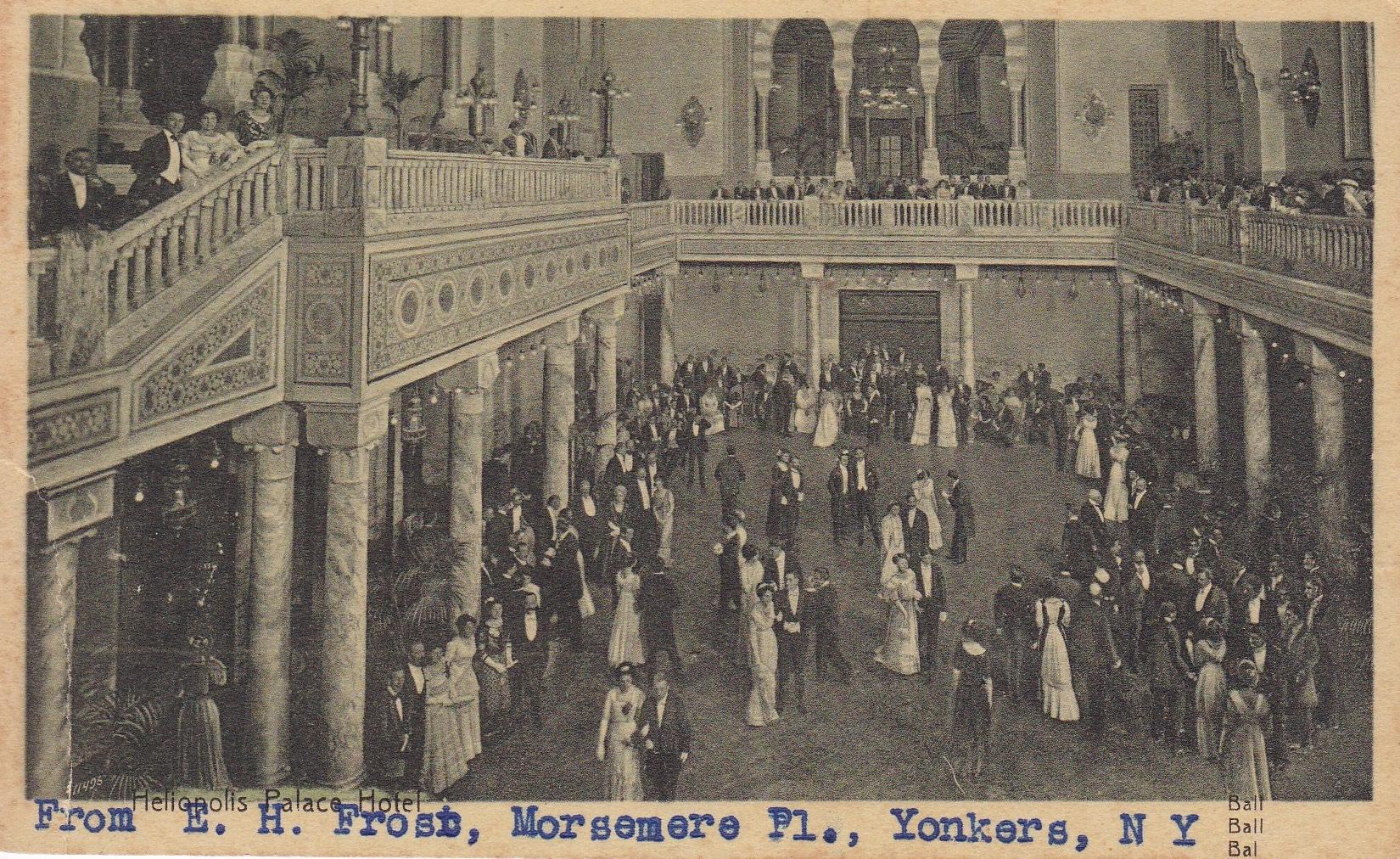 Postcards Heliopolis – Interior of Palace Hotel – Zola, ca 1930