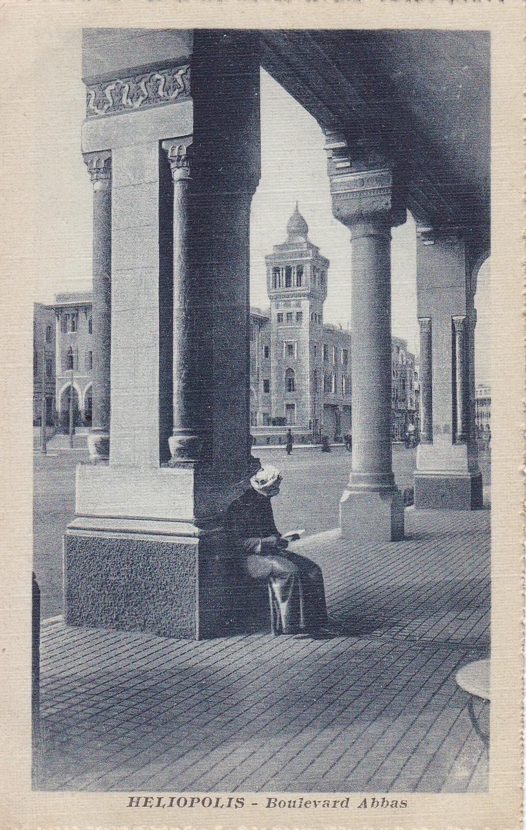 Postcards Heliopolis – Cairo Postcard Trust – serie 523 (ca 1914)