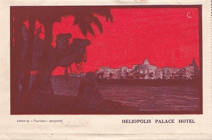 Brochure Heliopolis Palace Hotel (ca. 1915)