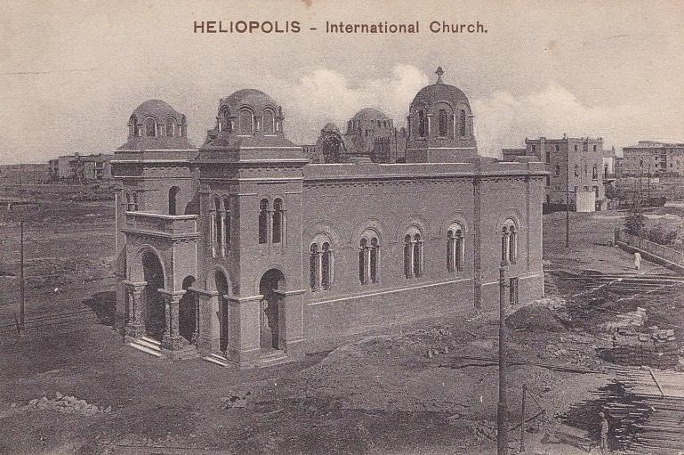 Heliopolis – Cairo Post Card Trust, Serie 601
