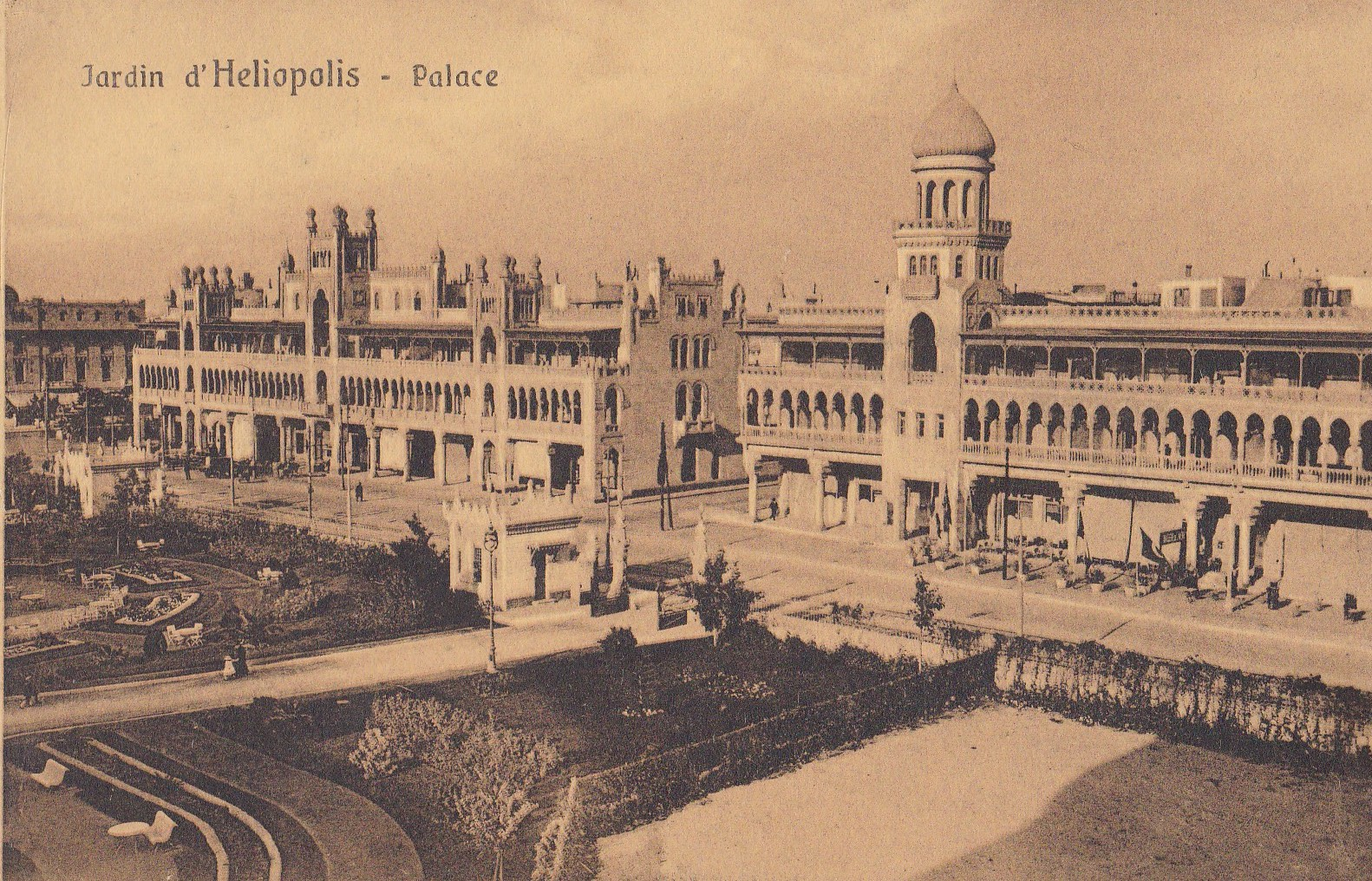 Postcards Heliopolis – Cairo Postcard Trust – serie 57 – 1914