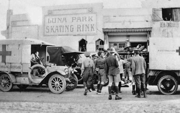Australian Army in Luna Park and Heliopolis, 1914-1918