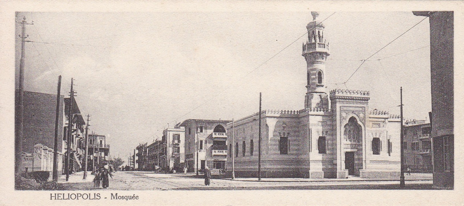 Postcards Heliopolis – Cairo Postcard Trust – serie 548 (ca. 1920)