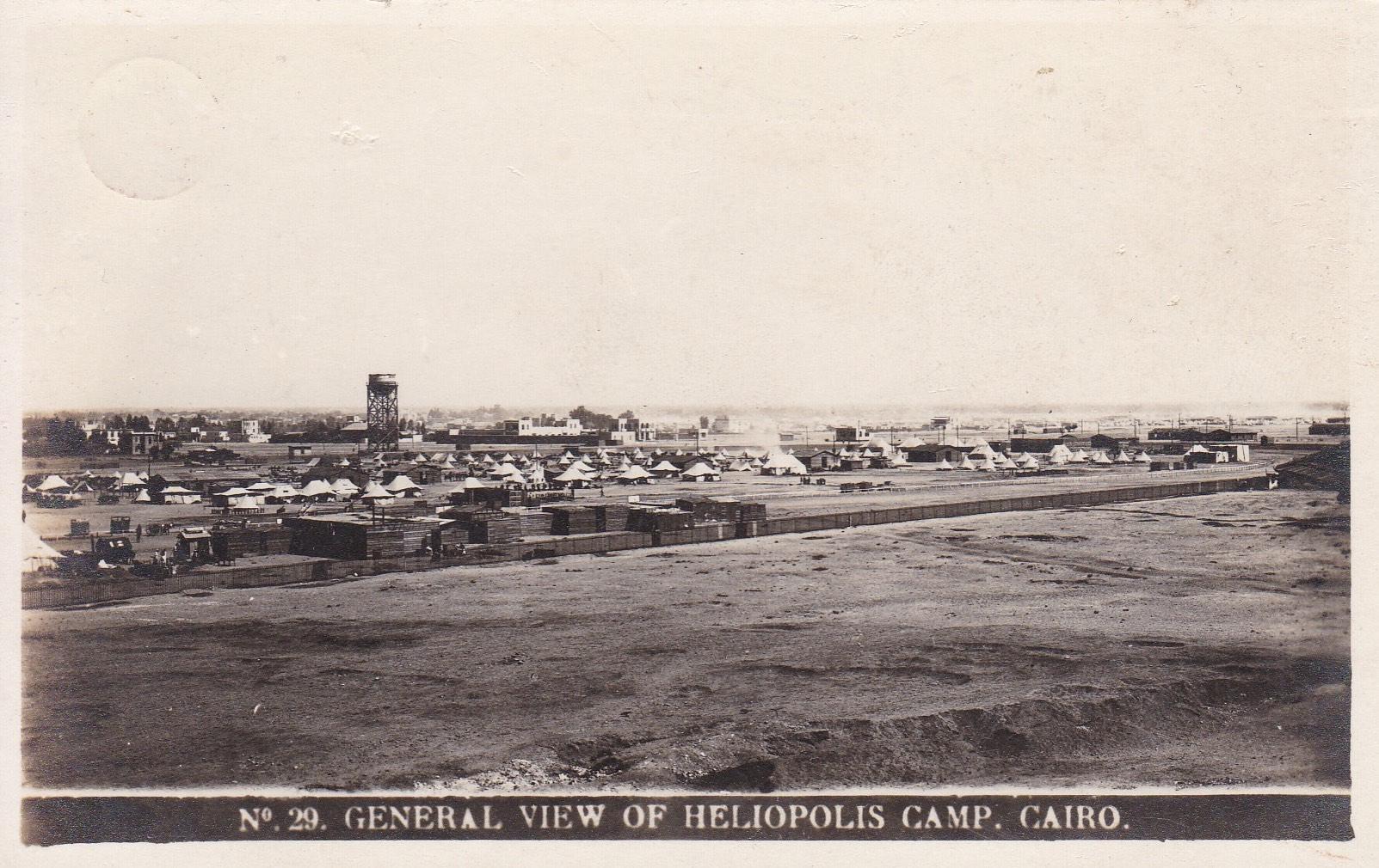 Postcards Heliopolis – MC – ca 1914