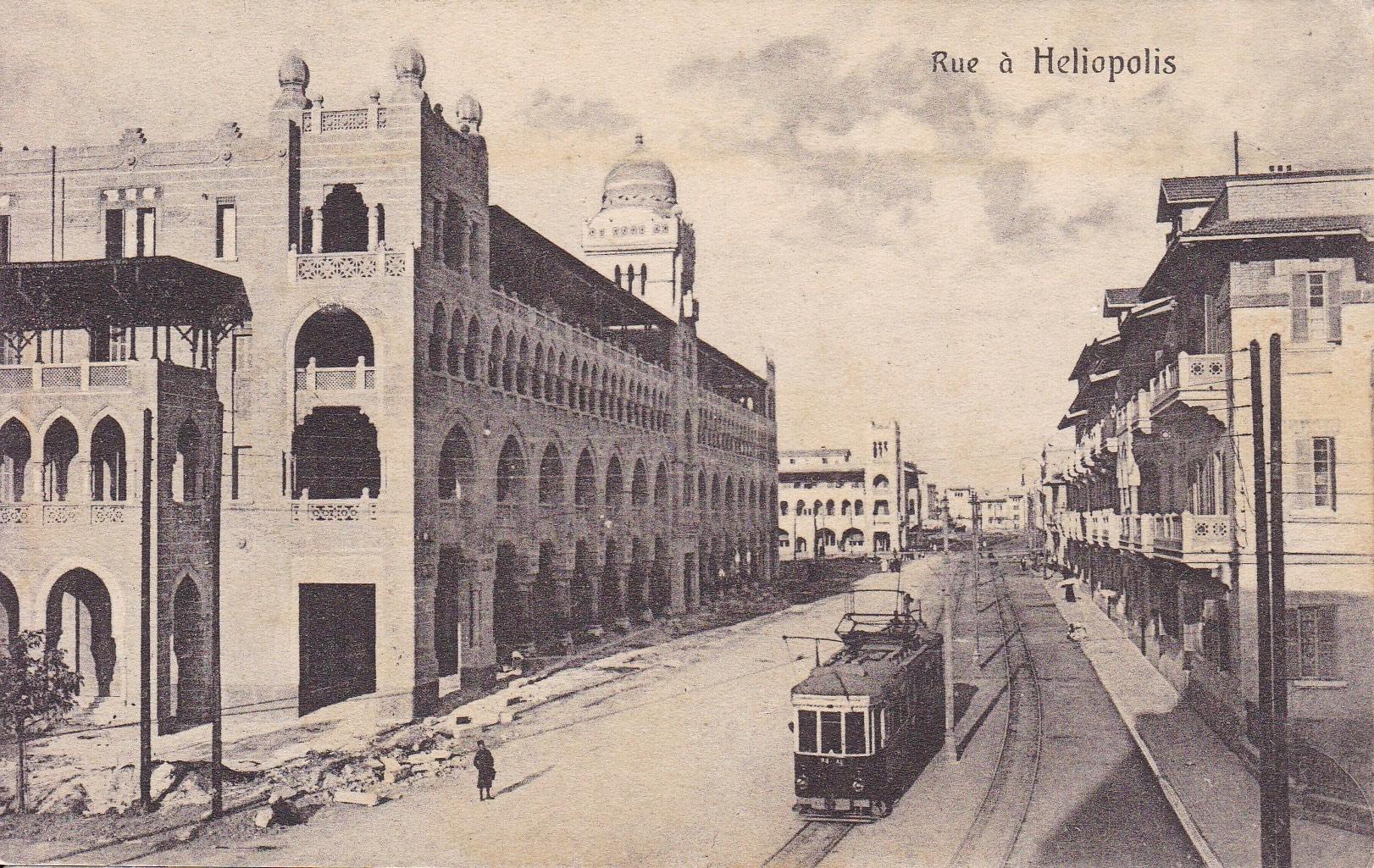Postcards Heliopolis – The Cairo Postcard Trust serie 524