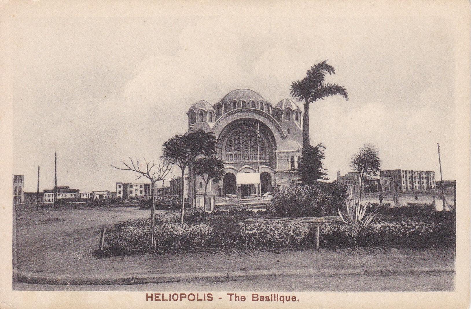 Postcards Heliopolis – Cairo Postcard Trust Serie 634  (brown titles) – ca 1918
