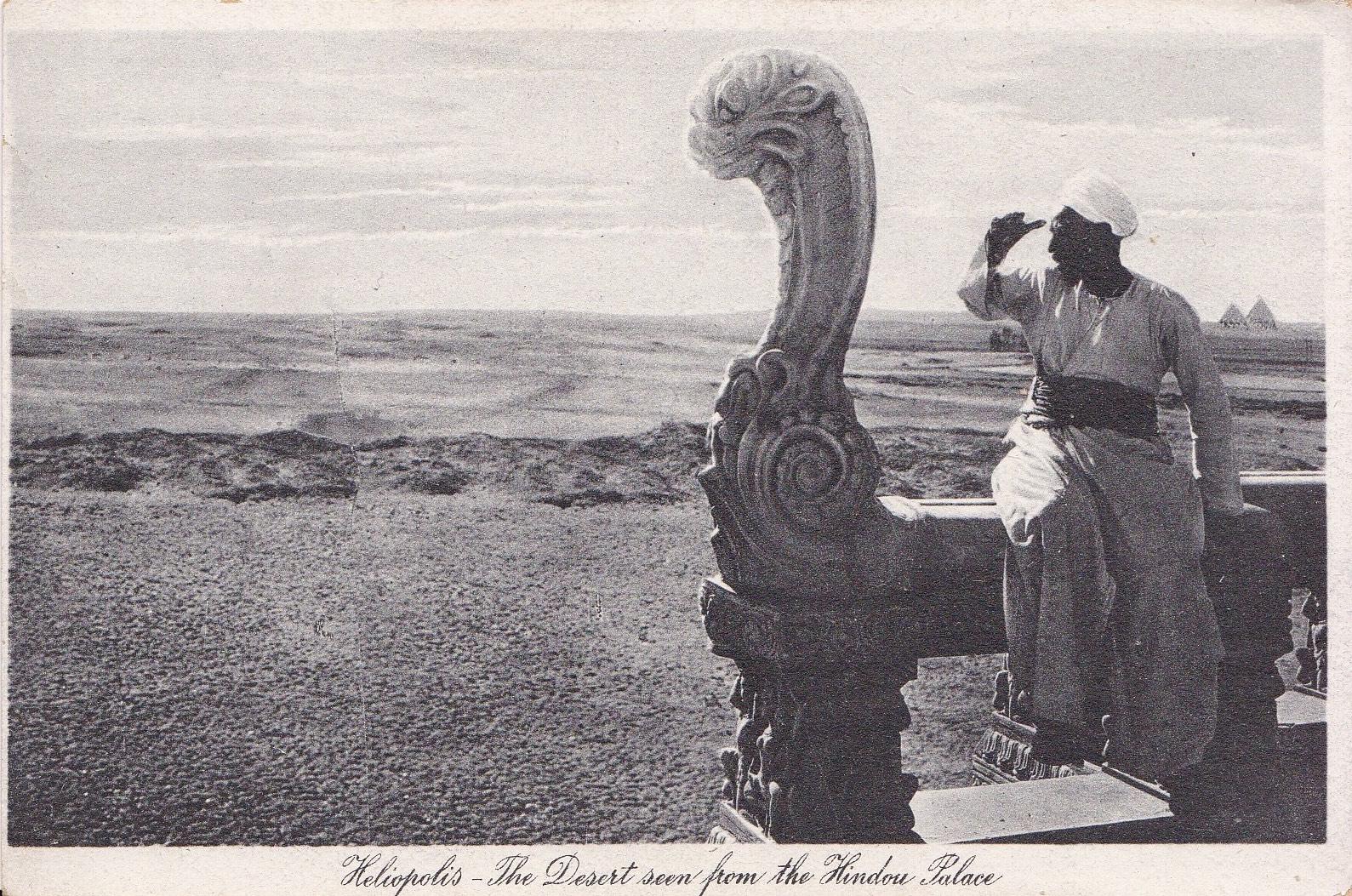 Postcards Heliopolis – Editors Lehnert & Landrock (text in italics)