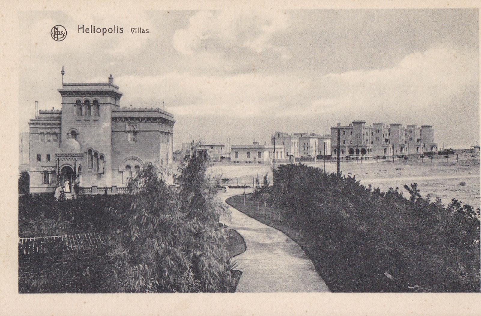 Postcards Heliopolis – Nels, Bruxelles – bw, ca. 1910