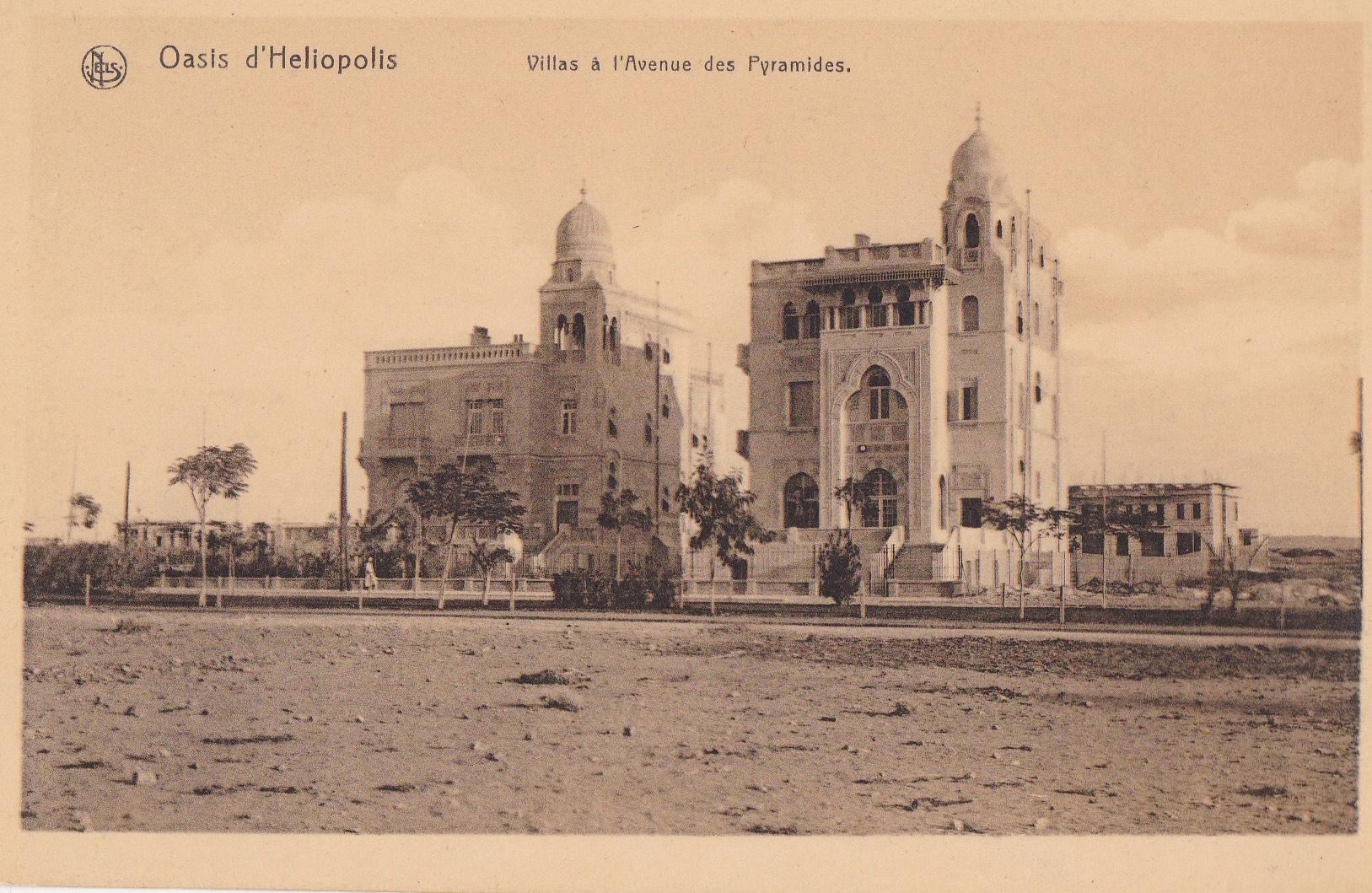 Postcards Heliopolis – Oasis d'Heliopolis – Nels, Bruxelles, ca. 1910