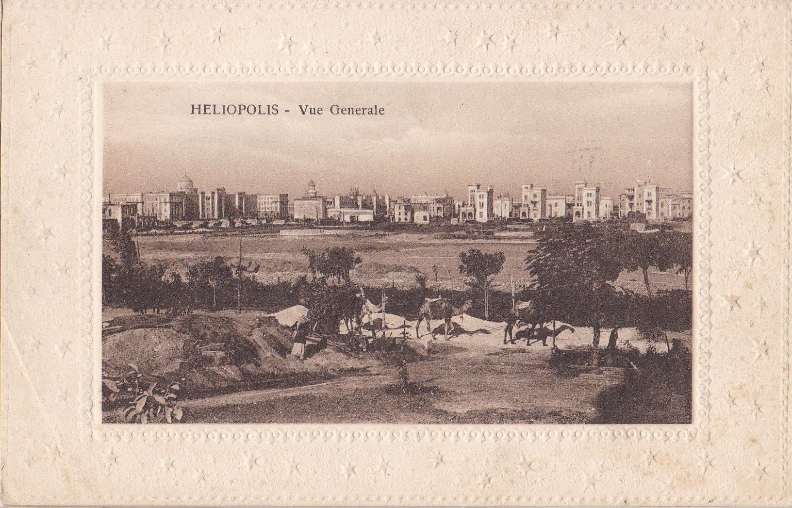 Postcards Heliopolis – Cairo Postcard Trust – Serie 711 – ca 1918