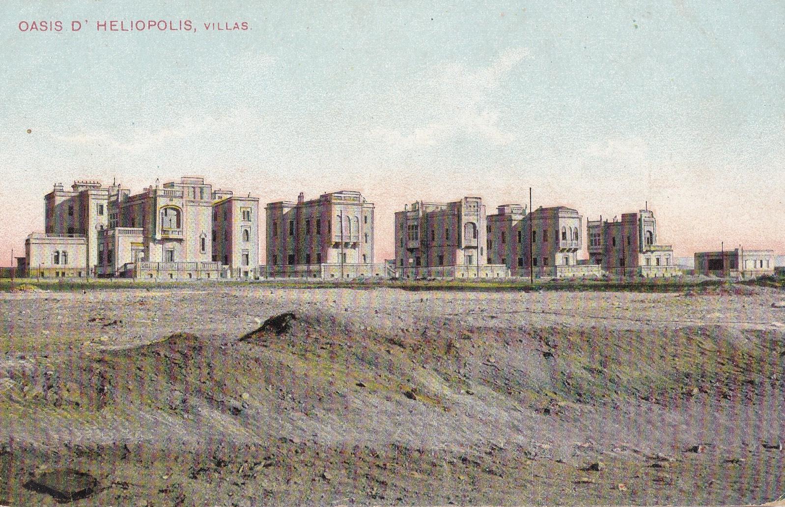Postcards Heliopolis – Lichtenstern & Harari, Oasis d'Heliopolis