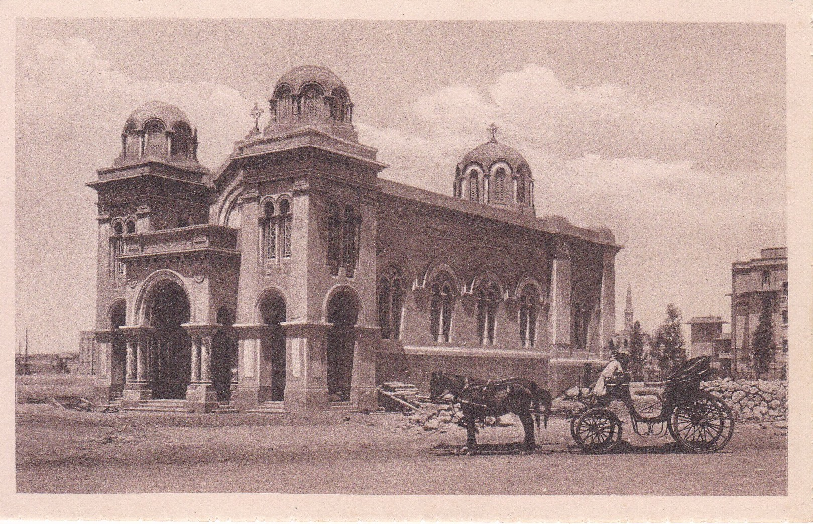 Postcards Heliopolis – B. Livadas & Coutsicos – Cairo – 1916