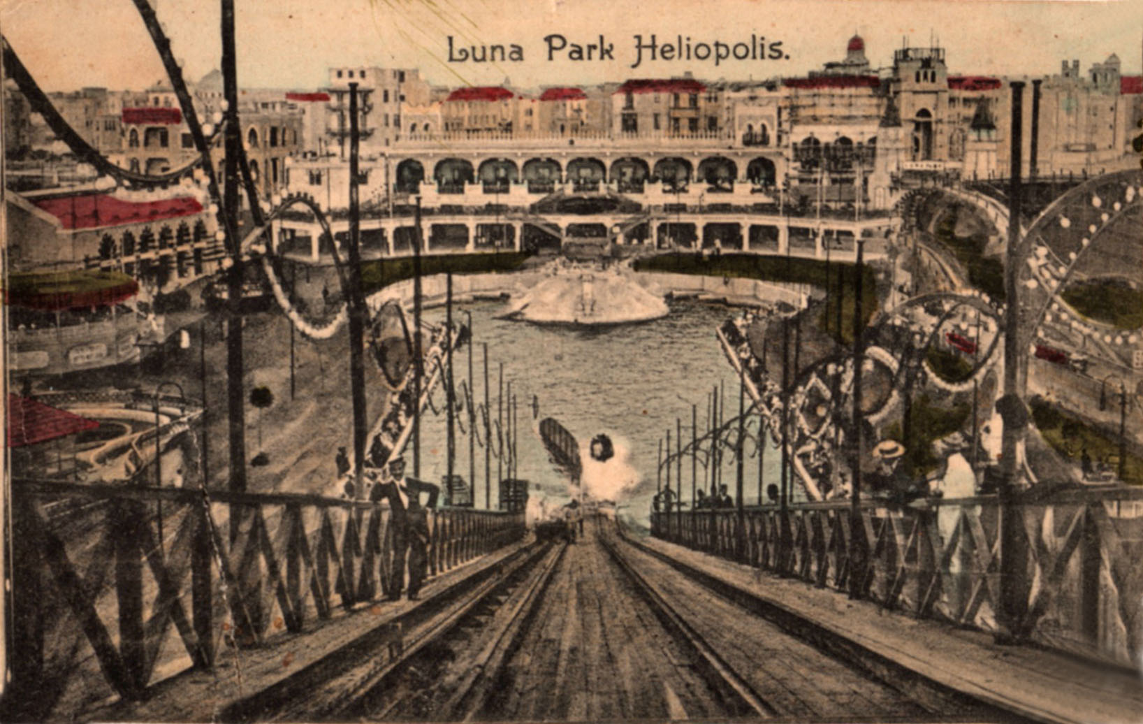 Luna Park and Australian Troops in Heliopolis